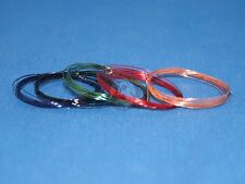 Peddinghaus (All Scales) 0.35mm Lacquered Copper Wire (5 colors, 1m each) 3202