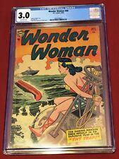 WONDER WOMAN 68 CGC 3.0 Hansen Sachs 1954