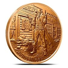 Prospector Series - Gunslinger  -  1oz .999 copper round