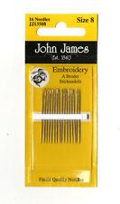Crewel Embroidery Needles Size 5-10