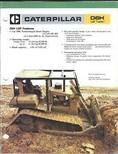 Equipment Brochure - Caterpillar - D6H LGP - Track-type Tractor - 1986 (E3984)
