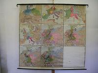 Schulwandkarte Wandkarte Deutschland Deutsches Reich 925-1933 191x184 ~1933