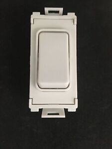 GET Ultimate Grid GUG101W 20AX 1 Way Grid Module Component White Sold Each