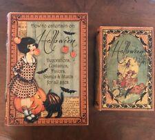 Bethany Lowe Halloween Children's Nesting Books-- Retired