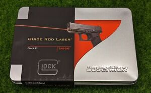 LaserMax Guide Rod Red Laser Sight for Glock 43/43X/48 Pistols - LMS-G43