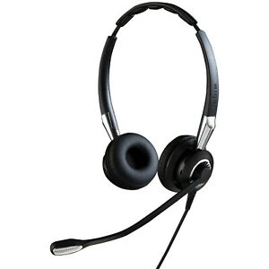 Jabra Biz 2400 II USB Duo CC Headset Head-band Black, Silver - 2499-829-309 - Bi