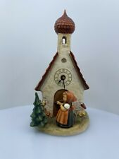 Vintage Goebel Hummel Figurine - Clock - Chapel Time -The Love Lives on Tmk -6