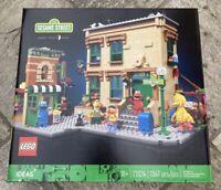 123 Sesame Street Lego Ideas #21324 Exclusive 1367 Pcs  New