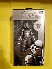 "Star Wars Black Series Carbonized Stormtrooper 6"" Action Figure"