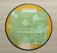 THE BEATLES The British Are Coming Limited Edition 3D Picture Disc LP RARE