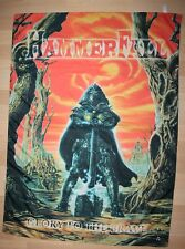 Hammerfall, Glory to the Brave bandiera, bandiera, 2000, RAR, RARE