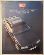 OPEL RANGE orig 1993 French Mkt Sales Brochure - Corsa Astra Vectra Lotus Omega