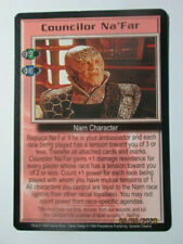 1999 Babylon 5 Ccg - Severed Dreams - Rare Card - Councilor Na'Far