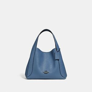 NEW with tag Coach 78800 HADLEY HOBO 21 lake blue