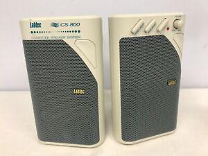 LABTEC CS-800 COMPUTER SPEAKERS