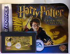 Harry potter et la chambre des secrets pour game boy advance