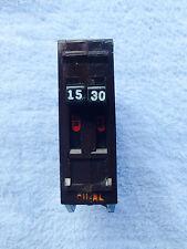 Wadsworth 30-15 Amp, 2 Pole, Twin Tandem Circuit Breaker