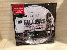 "The Killers Picture Disc ""Sam's Town"" Autographed by members Black Rim LP- NM"