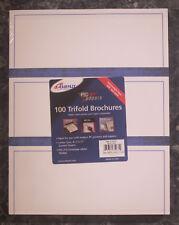 "Ampad - Tri-fold Brochure Paper Letter 8.5"" x 11"" Heavyweight Glossy 100 Sheet"