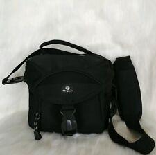 Targus Black Mulit Compartment Padded Adjustable Strap Camera Bag Euc..