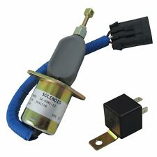 Fuel Shut Off Solenoid 5016244AA & Relay Fit For Dodge Diesel Cummins 94-98 5.9L