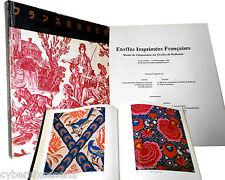 Museo della Stampa su Stoffa Mulhouse Etoffes Imprimees Francaises 1981 catalogo
