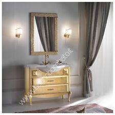 Mobile Bagno In Foglia Oro O Argento Made In Italy