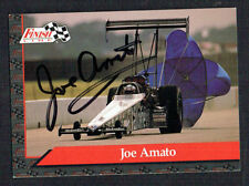 Joe Amato #3 signed autograph auto 1993 Finish Line NHRA Trading Card