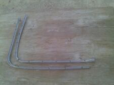 1959 1960 CHEVROLET IMPALA CONVERTIBLE PINCH WELL MOLDINGS BOOT SNAP TRIM