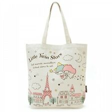 New! Little Twin Stars Shopping Tote Bag Paris, Sanrio Kawaii f/s from Japan