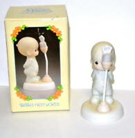"""Precious Moments Enesco """"Baby's First Word"""" 527238 Figurine in box"""