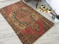 vintage rug , area rug , oushak rug , turkey rug , bohemian rug , anatolian rug