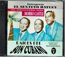 El Sexteto Hatuey Raices del Son Cubano Musica de Matamoros BRAND  NEW SEALED CD