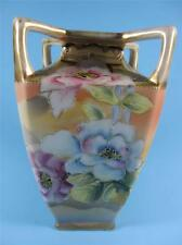 Imperial Nippon Tapered Square Four Handled Vase (#20-15)