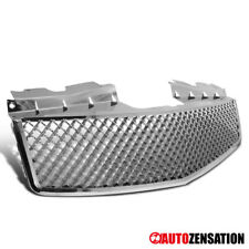 2003-2007 Cadillac CTS V Style Chrome Hood ABS Front Upper Mesh Grille Truck