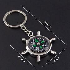 Fashion Compass Metal Car Keyring Keychain Key Chain Ring Keyfob Gift Sale
