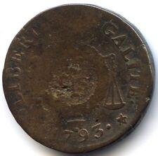 Convention Sol à la balance 1793 W Arras