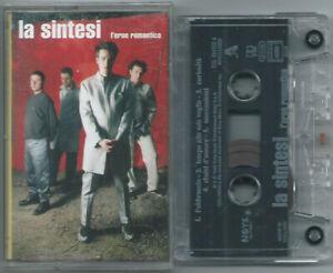 CASSETTE TAPE MC LA SINTESI L'eroe romantico (Noys 99) Italian rock synth pop NM