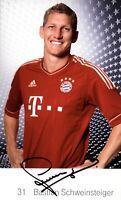 Sebastian Schweinsteiger original signiert FC Bayern München 2011-12 AK 5850 UH