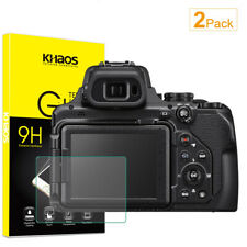 2X Khaos For Nikon COOLPIX P1000 Digital Camera Tempered Glass Screen Protector