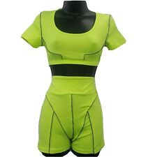 New listing Unbranded  Women's two  Pieces  athletic swimwear neon - Green Sz M