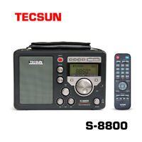 TECSUN S-8800 PLL DSP AM/FM/LW/SW SSB Radio ReceiverStereo + Remote Control