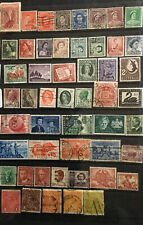 australian stamps.Fine Selection Of 50 Predecimals