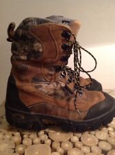 Red Wing Irish Setter Thinsulate 800 Gram Camo Hunting Boots Size 9.5