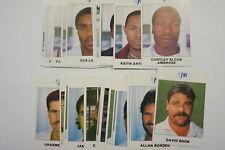 1988/89 FAI Cricket Australia & West Indies set of 35 cards