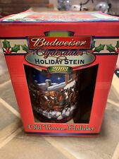 2003 Budweiser Clydesdales Old Towne Holiday Stein Brand New Collectable Christm