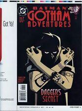 Batman Gotham Adventures 7 COVER PROOF ART Dagger Dixon Tattoo C. 1998 WB-Kids
