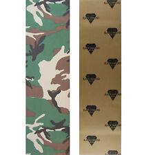 "Black Diamond Skateboard Grip Tape Sheet Camo 9"" x 33"" Griptape"