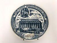"Kettlesprings Kiln 1958 ""Lincoln Sesquicentennial"" Plate  Lincoln Memorial 10"""