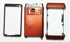 Full Orange fascia housing cover faceplate facia case for Nokia N8